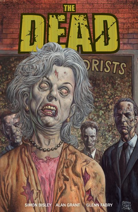 The Dead : Glenn Fabry cover