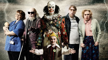The unsavoury looking cast of Psychoville