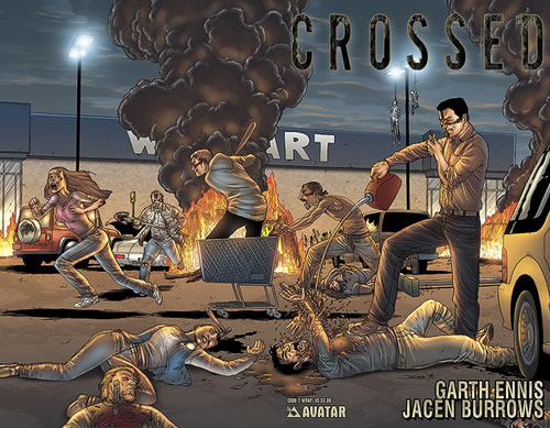 Crossed by Garth Ennis and Jasen Burrows
