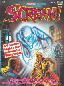 German Scream Comic #1