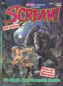 German Scream Comic #2