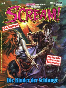 German  Scream Comic #4