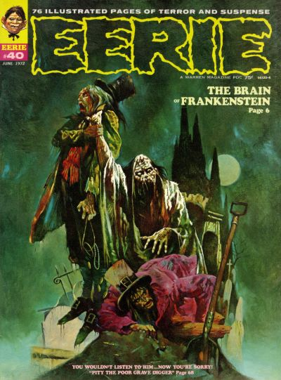 Top 20 Eerie Comic Covers The Theatre Of Terror