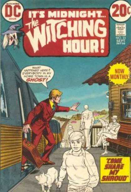 Top 20 The Witching Hour Comic Covers The Theatre Of Terror