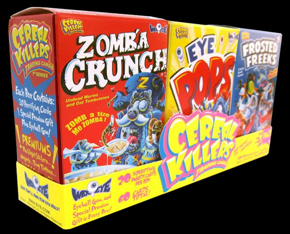 Cereal Killer Box Art