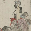 "Raigō -- 11th-century monk reborn as a giant book-eating rat (a.k.a. Tesso - ""Iron Rat"")"